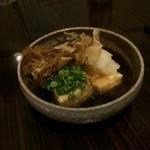 居酒屋くう - 揚げ出し豆腐(500円)