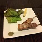 居酒屋くう - 豚バラの塩焼き(400円)