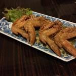 居酒屋くう - 料理写真:手羽先の照り焼き(???)