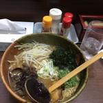 まん吉 - らーめん(550円)