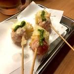 天ぷら さいとう - カプレーゼ天