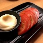 天ぷら さいとう - 冷やしトマト(290円)