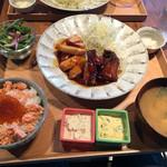 kawara CAFE&DINING - チキン南蛮ムネモモ2種セット