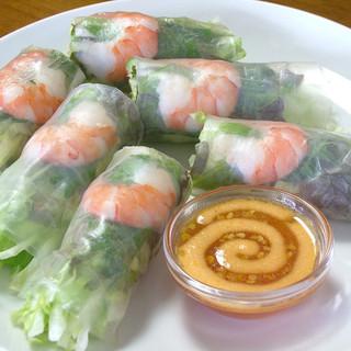 ヘルシー志向の女性にも人気!本格アジア料理をご堪能ください♪