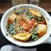 さかえや - 料理写真:満州にら餃子ラーメン
