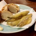 73689199 - きびなごの天ぷら、鹿児島直送薩摩揚げ
