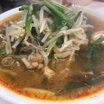 永新 - 料理写真:熱々のスッキリパンチのスープ