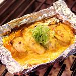 八剣伝 - かきの味噌マヨ焼