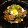 白 - 料理写真:大和牛のしぐれご飯