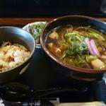 炭火焼 みや澤 東野田店 - 土佐はちきん地鶏そばセット