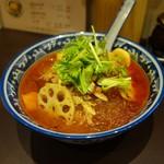 山城・食 - 「 麻辣湯 」辛口を選択