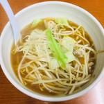 麺 えどや - 限定タンメン・小(730円)