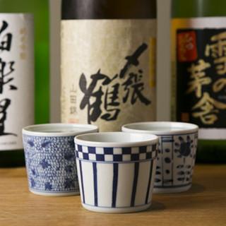和食と言ったら、日本酒。相性抜群の味わいを◎