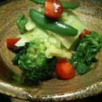野菜バーる31 - 春野菜の温サラダ