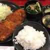 とんかつ甲斐路 - 料理写真:とんかつ定食 900円