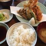 73700344 - 天ぷら定食