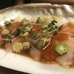 シーフードトラットリアSdining - 本日の魚のカルパッチョ