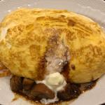 卵と私 - スフレ卵のオムライス