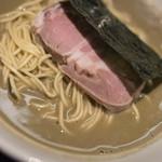 煮干乱舞 - 中華(もろこし)麪條(そば)鹽(しほ)、叉焼(やきぶた)