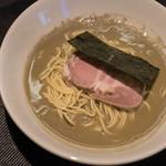 煮干乱舞 - 中華(もろこし)麪條(そば)鹽(しほ)