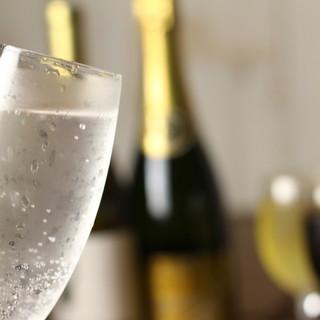 ◇種類豊富◇誰でも楽しめるよう、お酒が充実しています◎