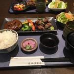 73703921 - 近江牛ハンバーグとひとくちステーキ膳 2016/03/26