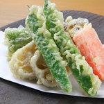 野菜バーる31 - 旬野菜の天ぷら