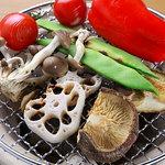野菜バーる31 - 旬野菜の炭焼き