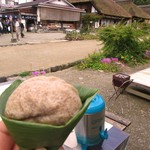 南仙院 神官 - そば粉の天ぷら 120円