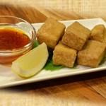 ダウ フー チェン ムオイ ~塩味風味の揚げ豆腐