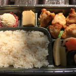 日本橋だし場 - 「だしの味わい」鶏の唐揚げ弁当