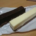 大野屋菓子店 - ベイクドチーズ・ベイクドショコラ