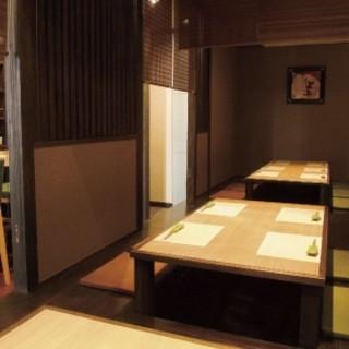 【ご宴会に最適】1お座敷は24名まで、2階は15名様まで。