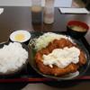 ソースかつ亭 黒のDON - 料理写真:チキンカツ南蛮定食❤️