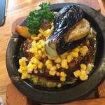 つばめグリル - 夏野菜の和風ハンブルグステーキ