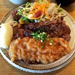 錨屋 - ステーキランチ肉ダブル