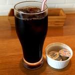 錨屋 - アイスコーヒー