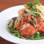 おやさいバル TIERRA KAKUREGA - 油淋鶏〜塩麹からあげの甘辛香味ダレ〜