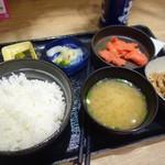 吉野家 - 明太子牛小鉢定食