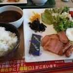 CAFETERIA 岡崎農場 - 朝定食 700円