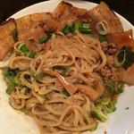 台湾まぜそば 麺屋 イッショウ - やはり天地返し きっちり混ぜると美味しい