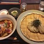 73718482 - 鴨汁つけ麺(数量限定)