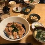 Ichijiku - せせり丼(2017.5.22)