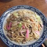 黒田屋の博多ちゃんぽん - 皿うどん600円