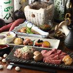 どまん中 - 旬の食材を使ったコース料理は獺祭も飲める飲み放題付き。