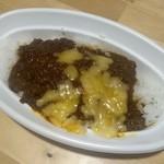 コスギカレー - 濃すぎカレー丼(イベントメニュー)、チーズトッピング