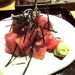 旬菜魚や 棗 - 旬菜魚や 棗 @八丁堀 ミニセットの鮪ぶつ