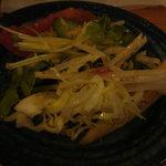 大茶庵 - サラダ