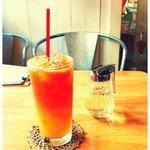 NUNU CAFE - Orange Juice & Tea ♡