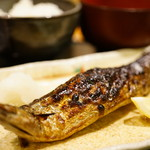 食彩 かどた - さんま塩焼き (¥1,080)